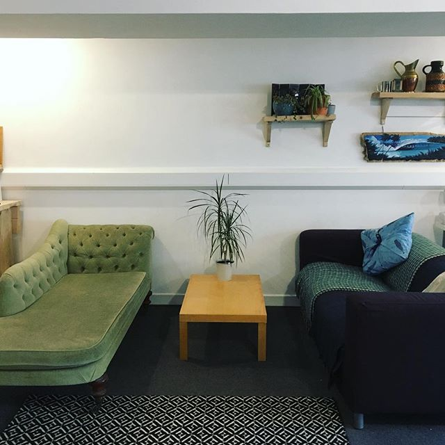 New & improved seating area in our office! Fancy a cuppa?