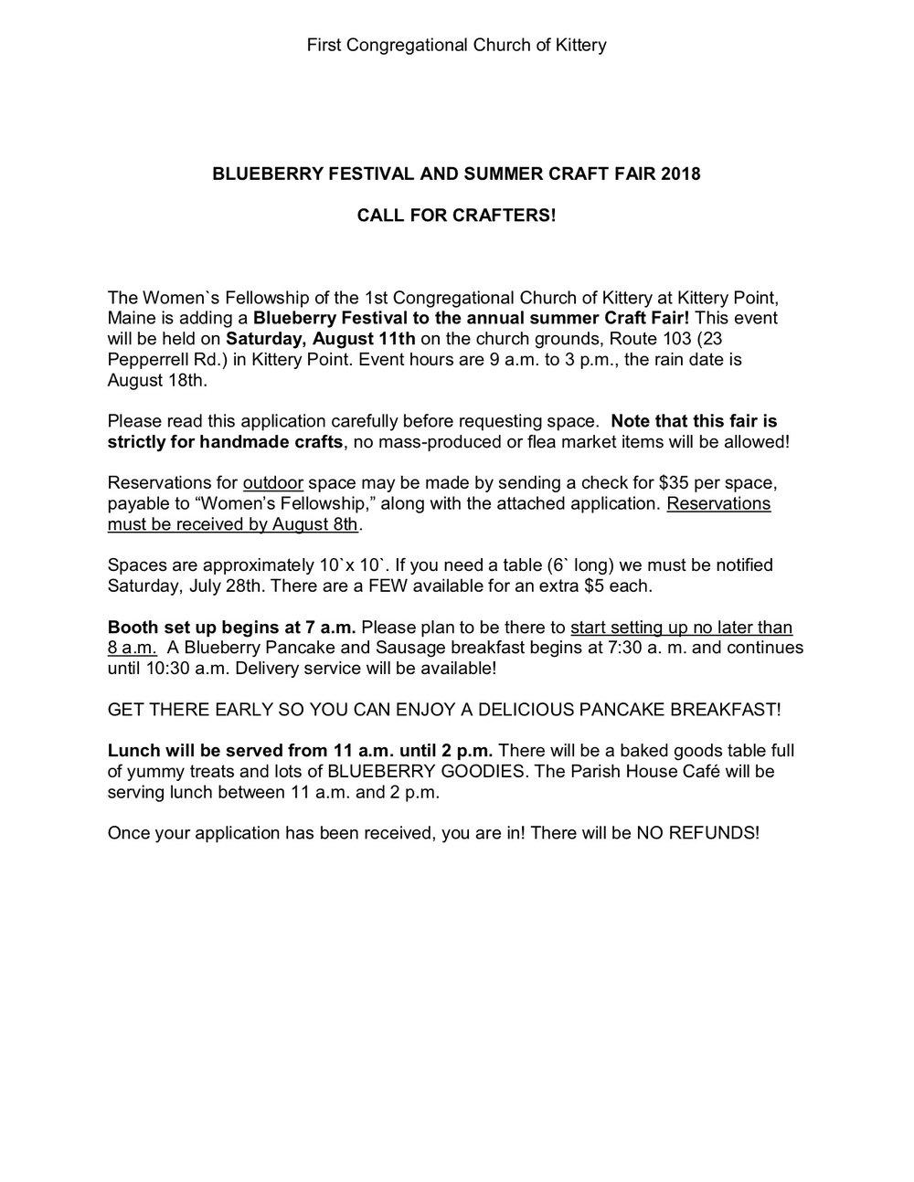 BLUEBERRY FESTIVAL AND SUMMER CRAFT FAIR 2018.jpg