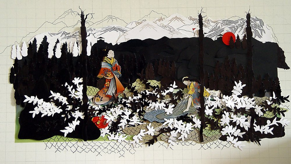 Untitled (from the Japonism Series, Homage to Okumura Masunobu)