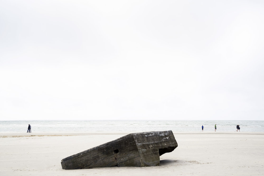 "Roi Kuper, From ""The Atlantic Wall"" series, 2017"