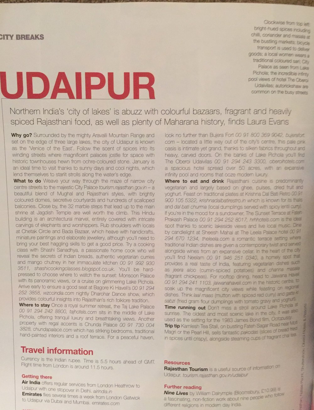 Food and Travel Magazine Udaipur.JPG