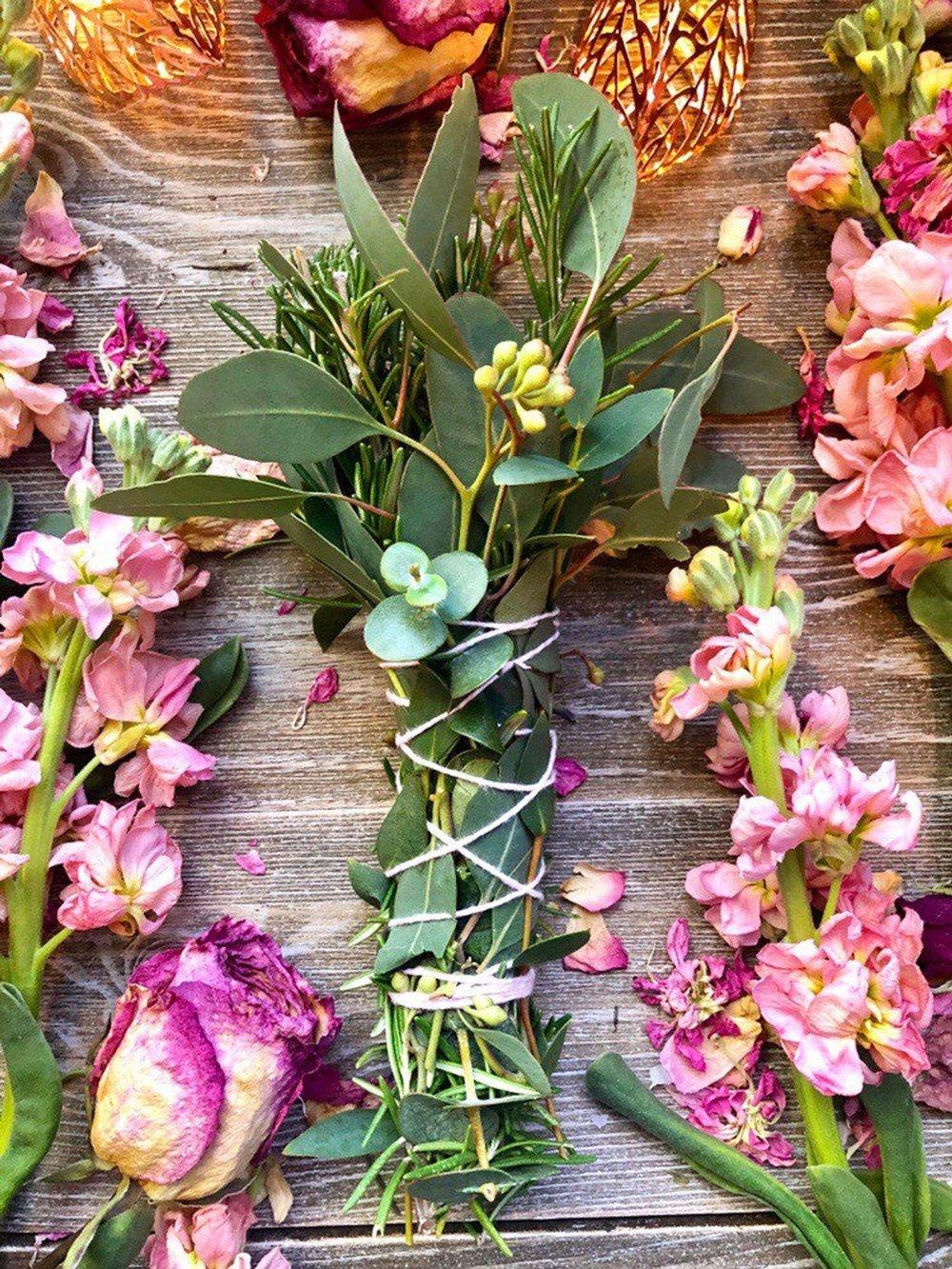 Floral Smudge