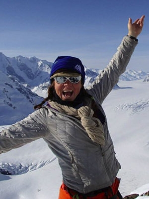 Cecelia Mortensen  Out of the twenty years Cecelia has been exploring mountains, fifteen of those years have been guiding explorations. Cecelia's passion and enthusiasm for the mountains is addicting. She is one of twenty women in North America with her full Mountain Guide certification and is also a certified IFMGA guide. Cecelia has the knowledge and experience to help you achieve your backcountry goals. Cecelia's enthusiasm only adds to the Girls Do Ski team.