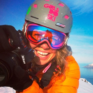 Agathe Bernard  Agathe has a broad array of photographic abilities specializing in ocean conservations, wedding photography and best of all (we think!) female adventures in the mountains. Agathe captures the different memories of our camps in ways that make you laugh, smile and feel like you're back living in that moment.