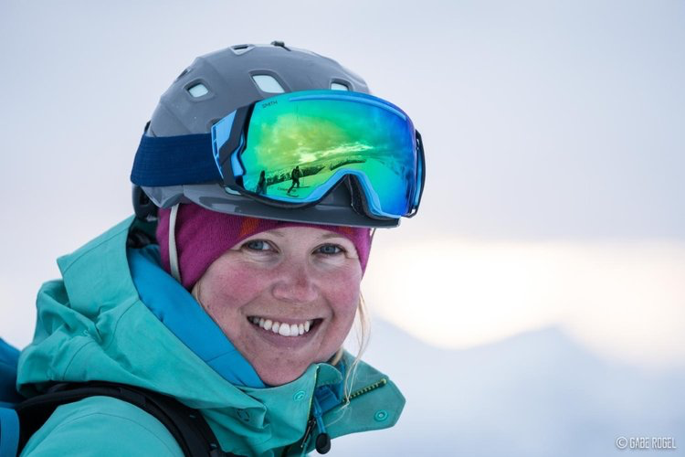 Emelie Stenberg  Emelie follows her passion for the mountains wherever she goes. Originally from Sweden, Emelie traveled to Canada to experience BC powder skiing and was immediately hooked. She has since completed her Adventure Guide Diploma, Bachelor of Tourism Management and ACMG Ski Guide Certification. With patience, knowledge and a vigour for the outdoors, Emelie is one of the best to guide you through the mountains in search of outdoor, winter filled adventures. We are lucky to work with amazing women like Emelie Stenberg.