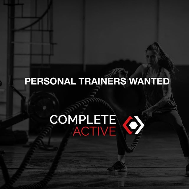 Uncapped earning potential & choose your own hours! Get in touch:  Email: hello@completeactive.com