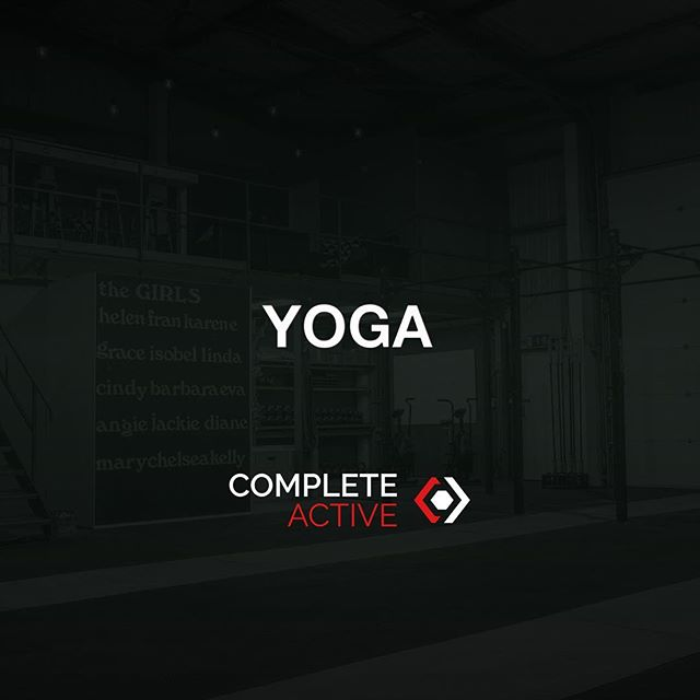 Yoga now @complete_active !! Every Thursday at 7.15pm! Anyone welcome, open to all members and non-members.  ONLY £5 per class!!! Free for all Gold members.  BRING YOUR MATS! Limited spaces available- register and book online at completeactive.com or download the App! Taught by our very own @kbsnap  See you there!