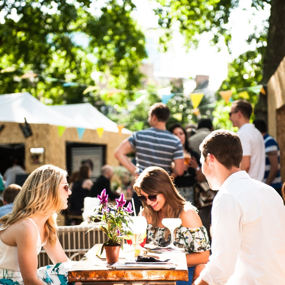 COCKTAILS IN THE CITY  - 25 of London's finest cocktail bars will be popping up for the ultimate al-fresco cocktail festival in the beautiful surroundings of London's finest private Georgian gardens this summer.Friday 3rd - Saturday 4th August 2018Tickets: £20 and include a cocktail