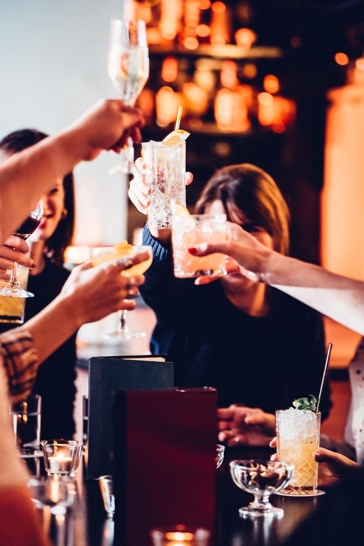 Cocktails at Reverend JW Simpson
