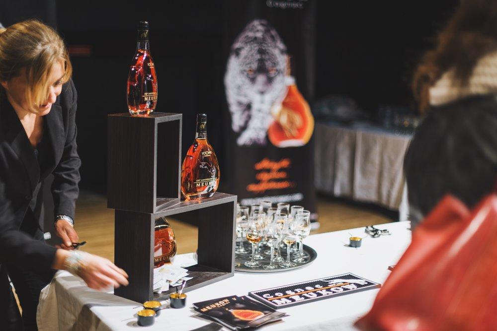 Dégustation de Cognac Meukow -