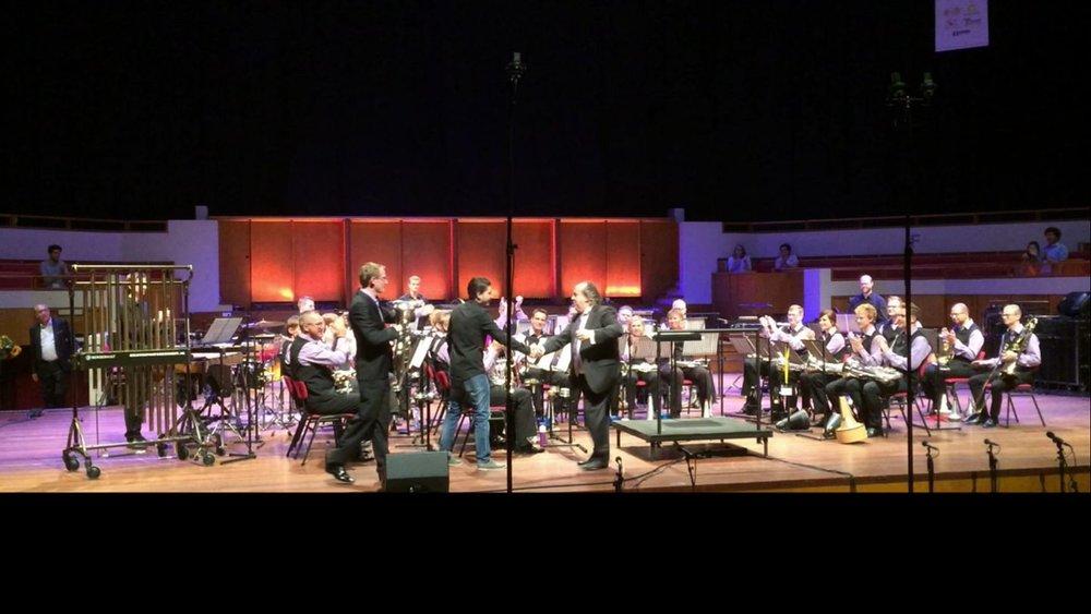 The premiere of 'Underground Concerto'. TivoliVredenburg, Utrecht, 2017.