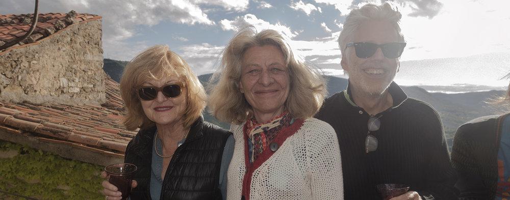 THREE mentors -