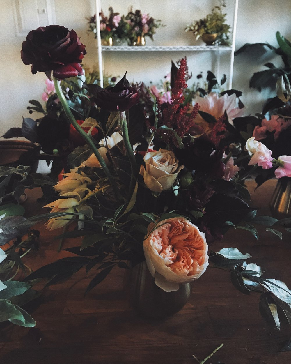 Our Services - Wedding Floral Design            Branding & Marketing EventsWeekly & Monthly Business AccountsDeliveries & Drop-offs       Editorial & Styling          Floral Installations Conference & Wellness Events