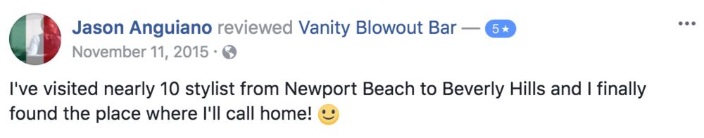 vanity-blowout-salon-downey-reviews