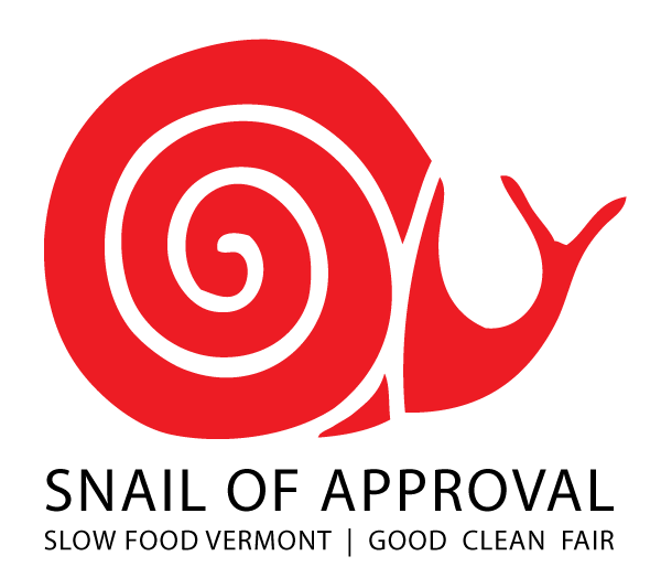 Vermont Snail Of Approval Logo