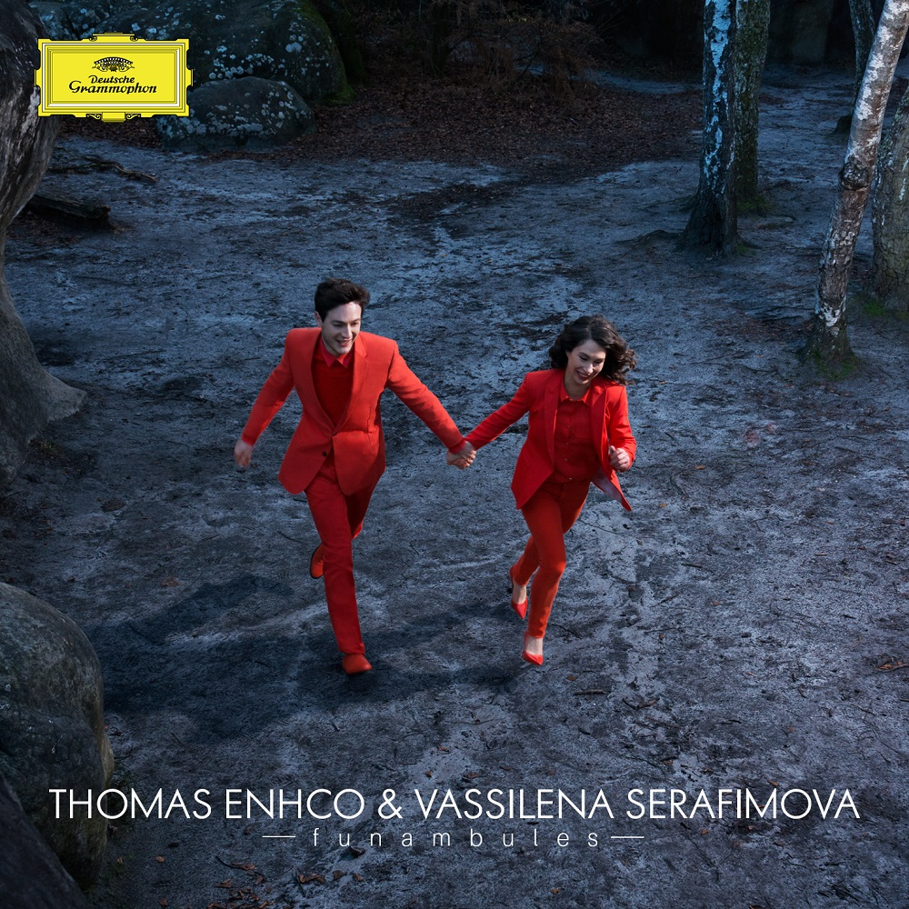 Thomas Enhco & Vassilena Serafimova - Funambules (2017)   Présenté par les artistes Elephant Paname