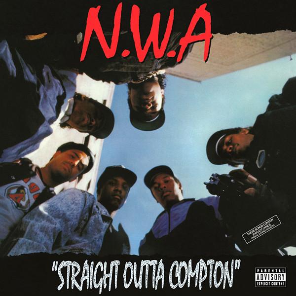 """NWA """"Straight Outta Compton"""" (1988)   Présenté par Julien Bitoun Pavillon Carré de Baudouin - 05.02.19  infos"""