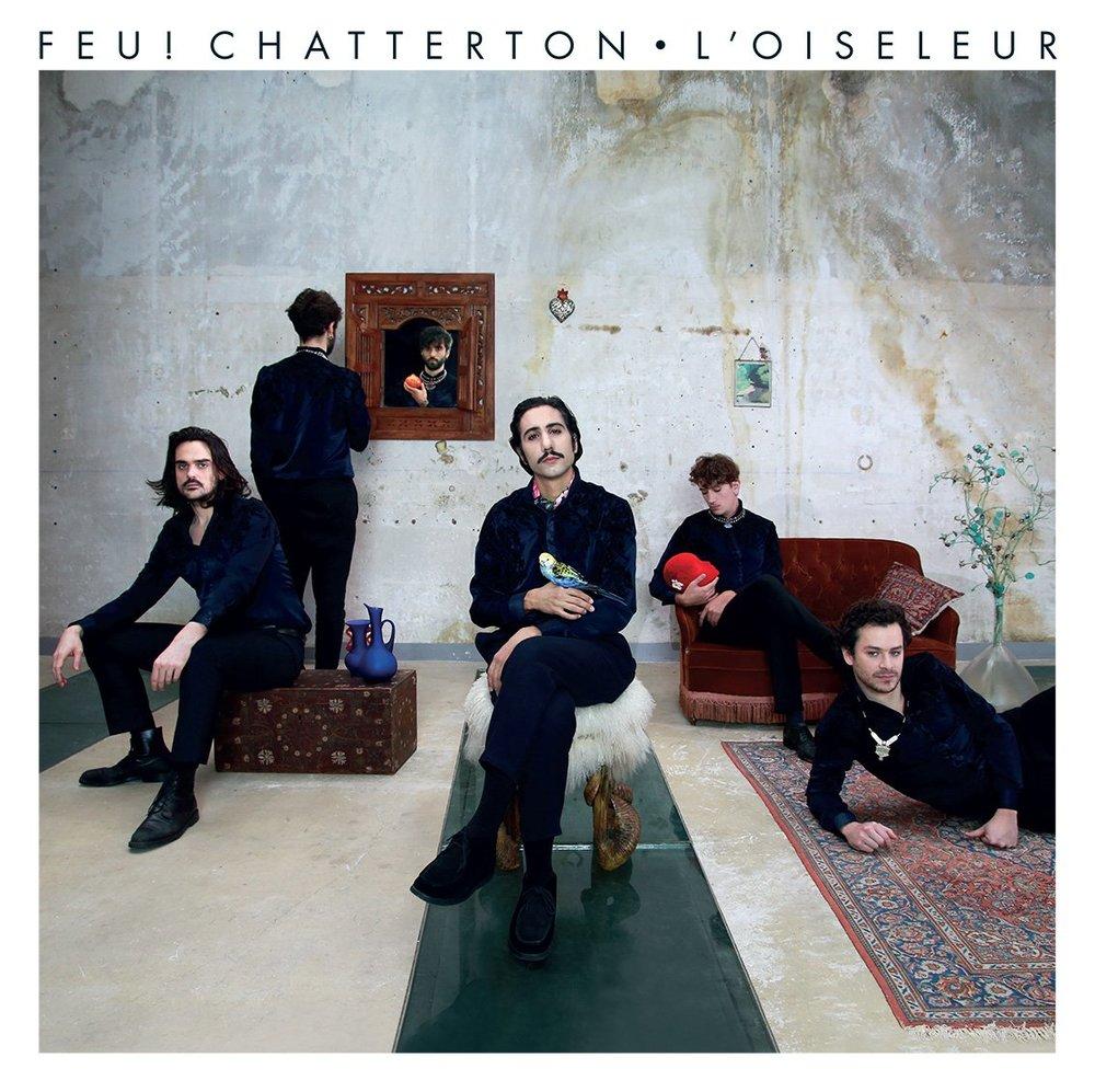 """Feu! Chatterton """"L'oiseleur""""   En présence du groupe Bibliothèque historique de la ville de Paris 12.11.18 -  infos"""