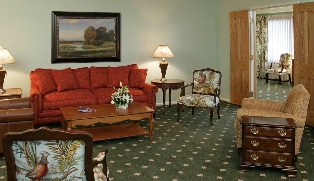 Welcoming And Inviting Modern Funeral Home Interior Design