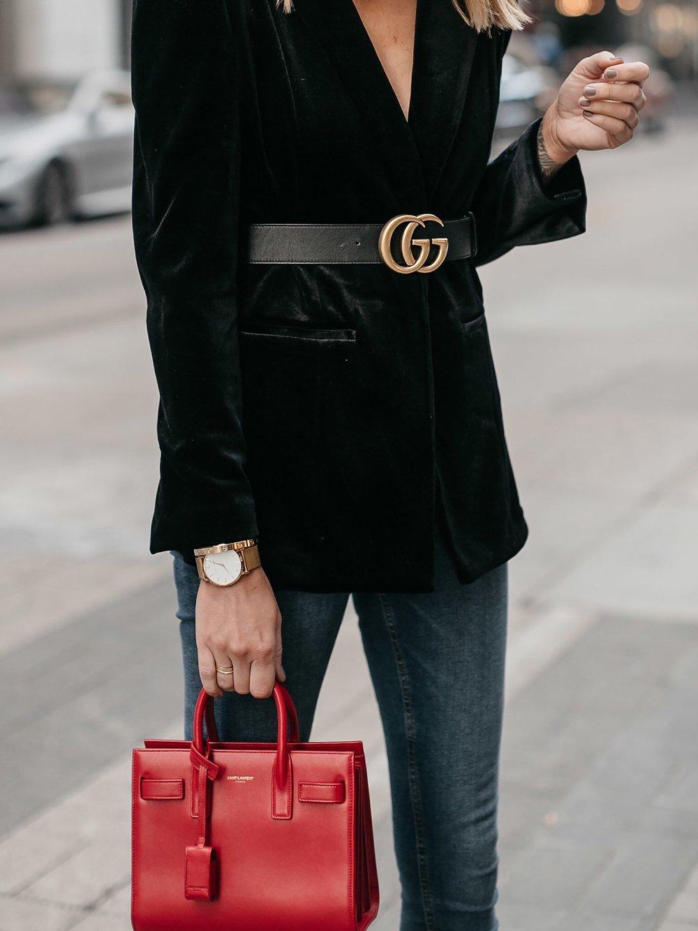 Fashion-Jackson-Black-Velvet-Blazer-Gucci-Marmont-Belt-Saint-Laurent-Red-Sac-De-Jour.jpg