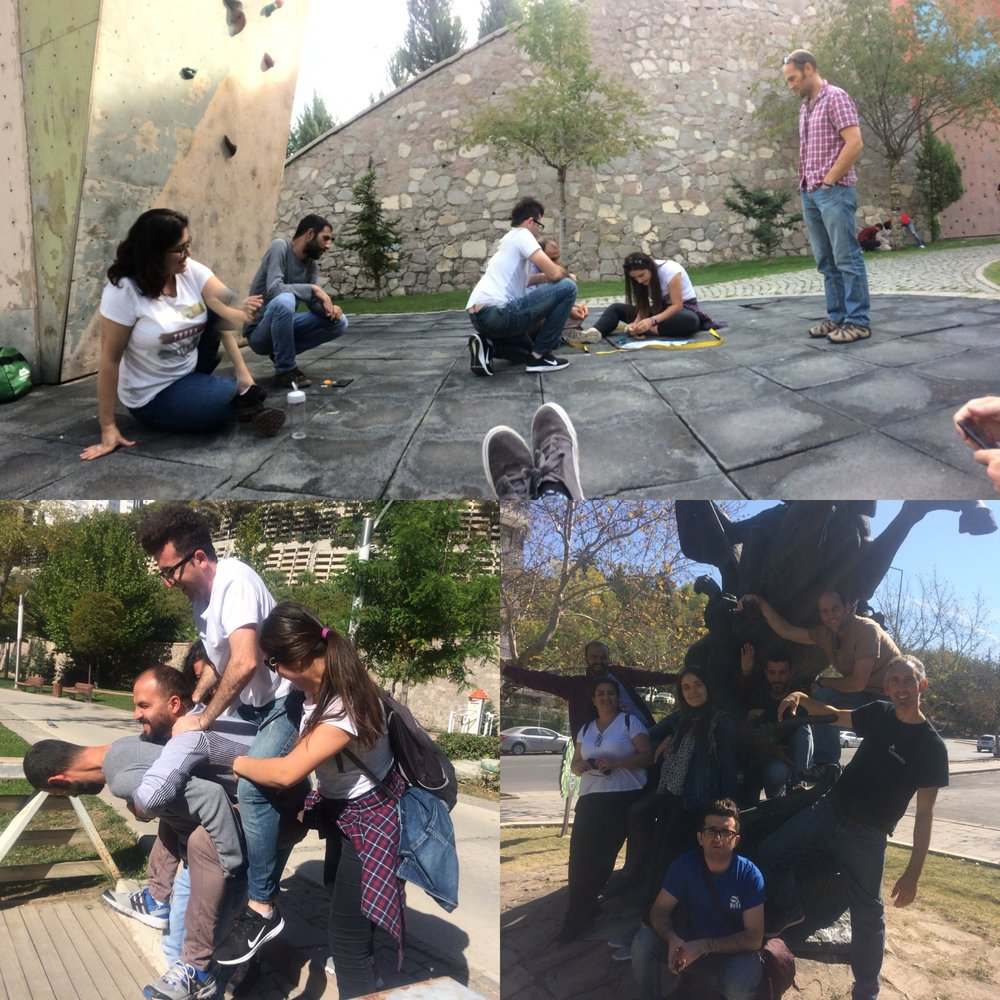 Highlights from our leadership development course for young people in Turkey