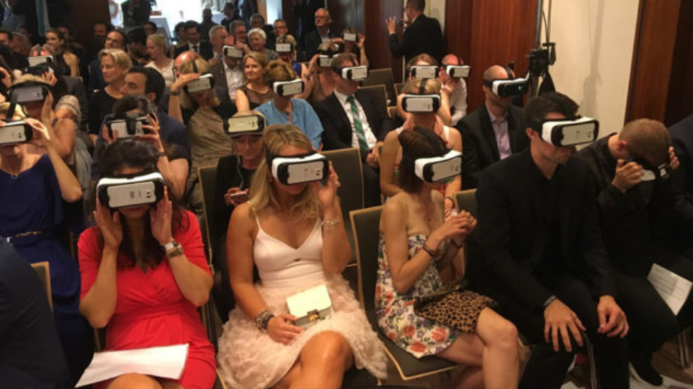 goodstuff-media took the audience on a virtual journey through the resort...
