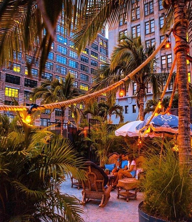Go check out one of our favorite projects before it closes! Open through October. #gitanonyc @manscapersny  @grupo.gitano 🌴🌴🌴🌴