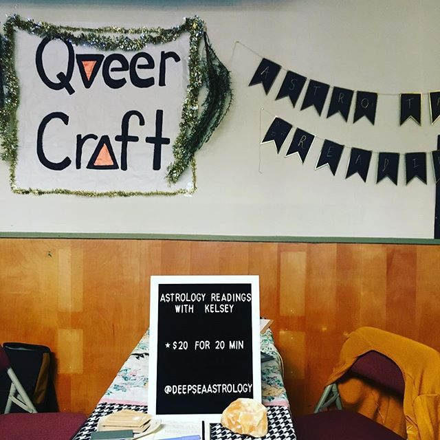 Come see me today at @queercraftpdx! 🐣