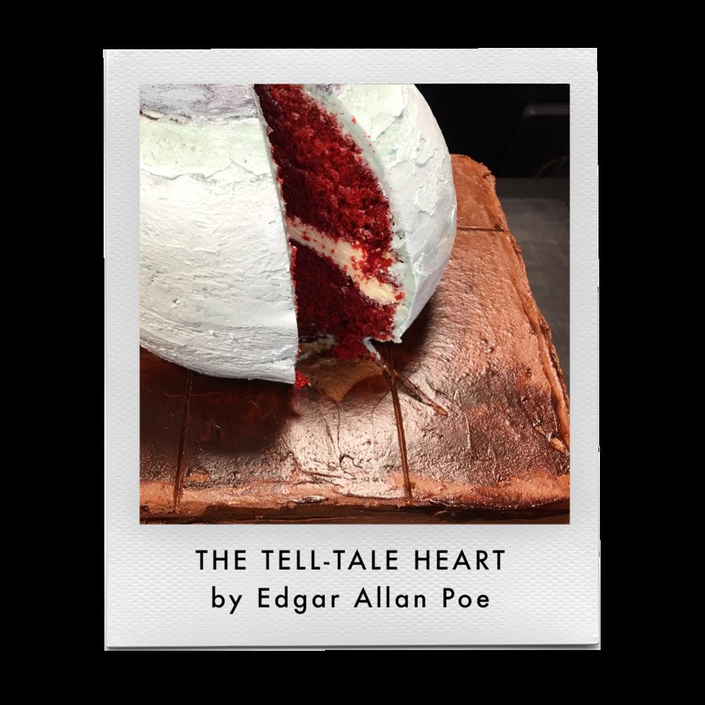 Tell Tale Heart as Cake