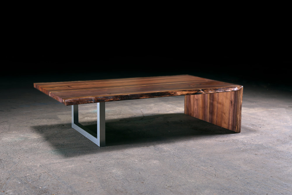 Walnut Waterfall Coffee Table. Res Ct Wal (29) Copy