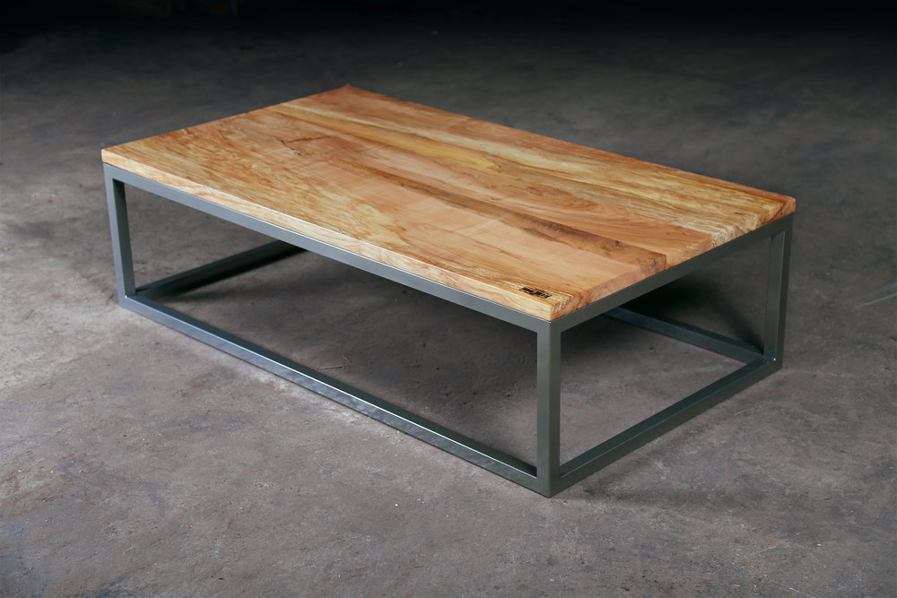 Straight Edge Maple Coffee Table