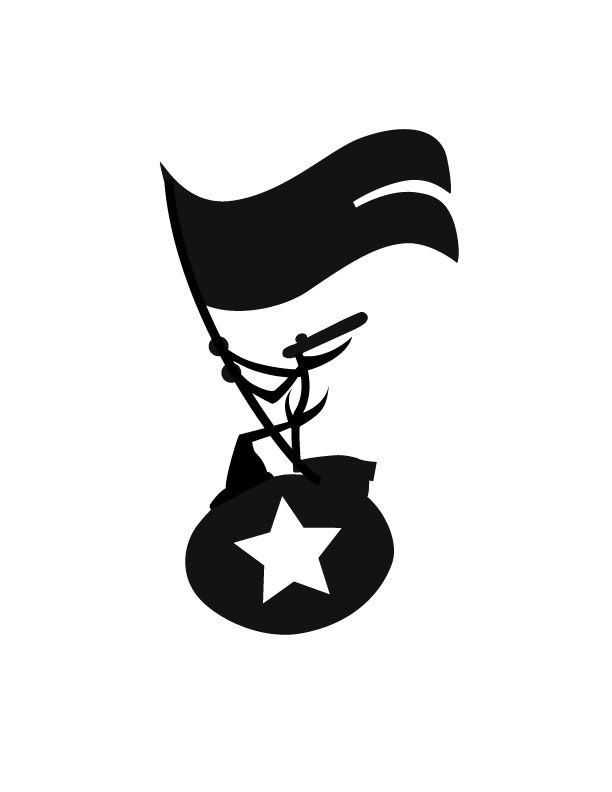 THE FUNKY HEROES OFFICIAL TRADEMARK. LOGO DESIGN BY ANDRE E. PRESTON