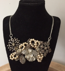 a sample of the beautiful jewelry, Andrea makes