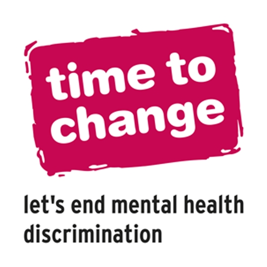 TIME TO CHANGE  - Time to Change is changing how we all think about mental health and seeking to end mental health discrimination.