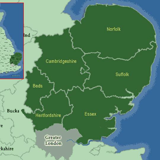 EAST aNGLIA -