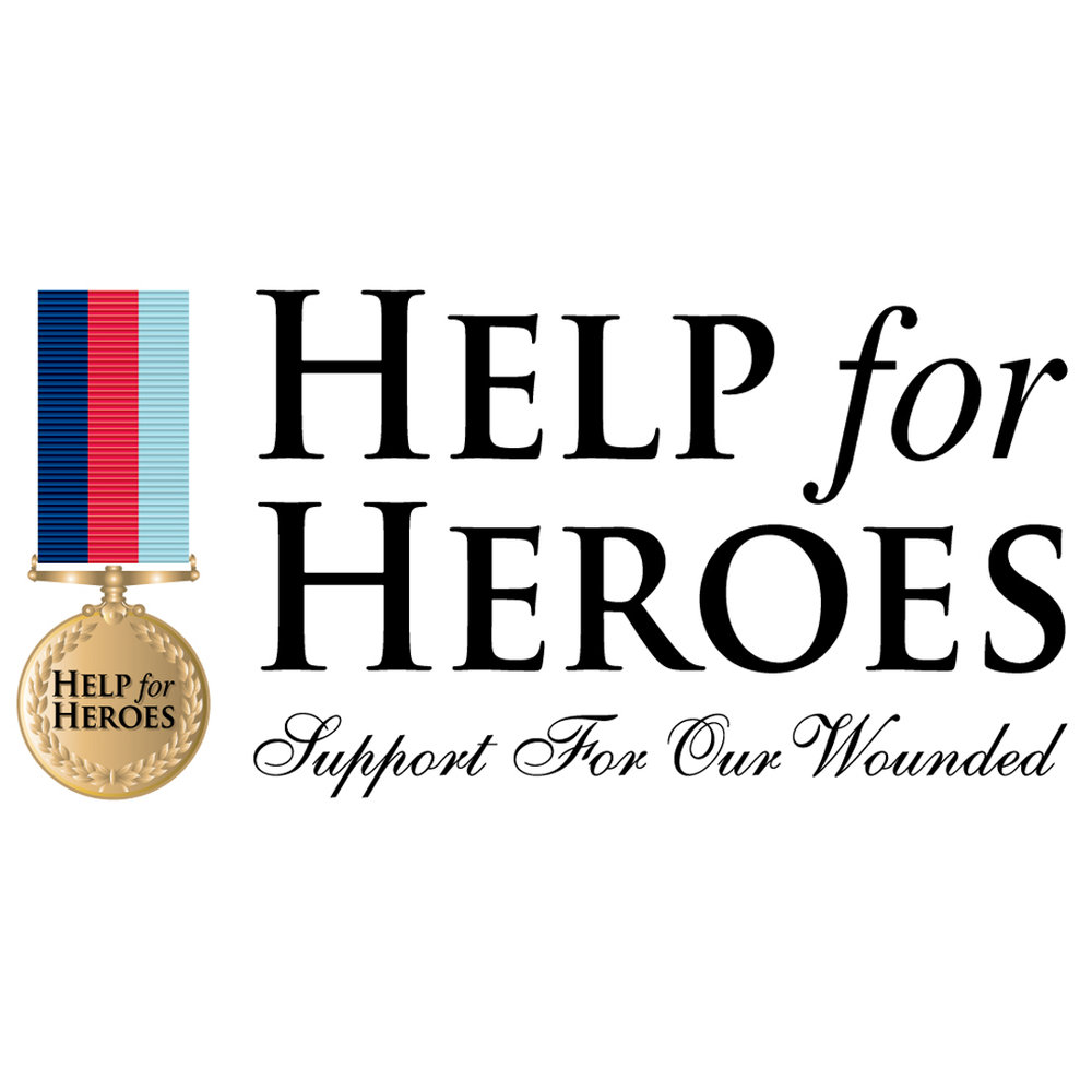 HELP FOR HEROES -