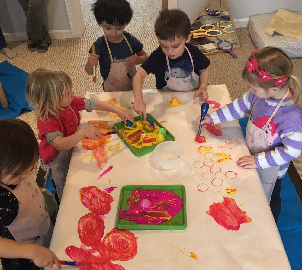 Newburyport Toddler Art Classes Harmony Mommy and Me