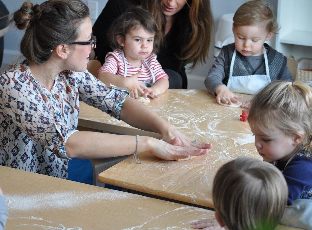 Newburyport Toddler Baking Class