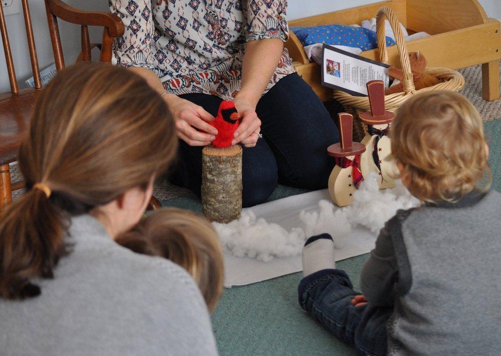 Newburyport Toddler Class Storytelling