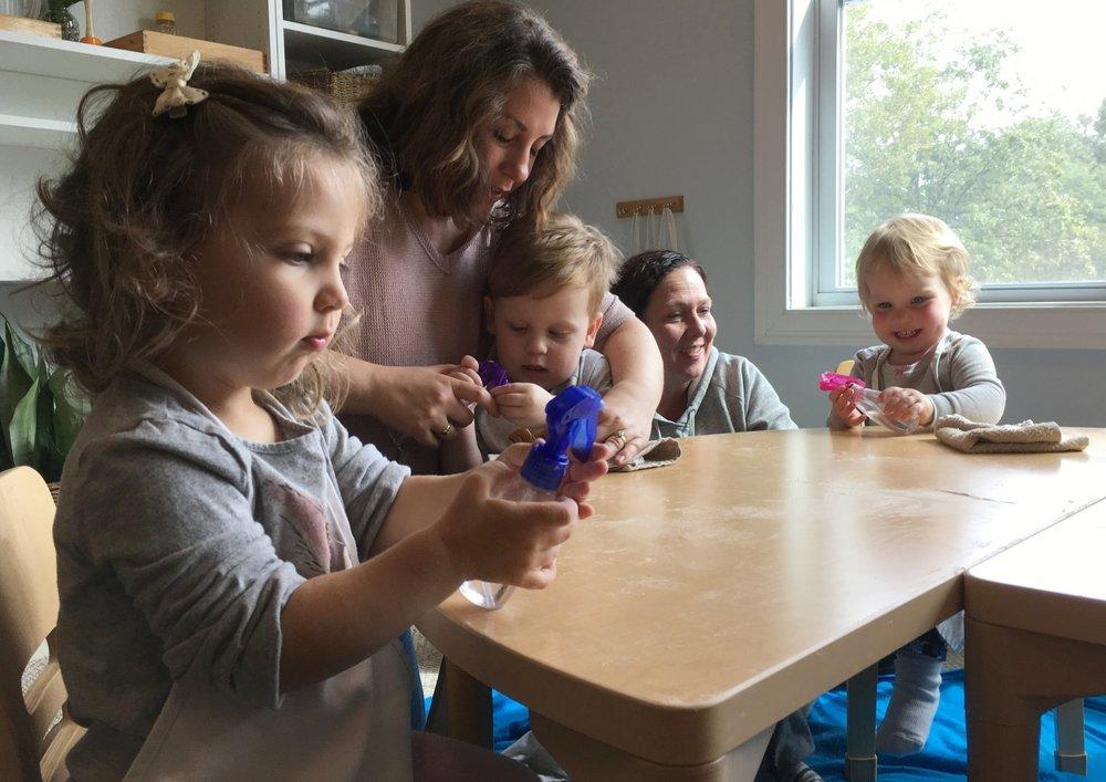 Toddler Baking Class Newburyport Harmony Natural Learning Center