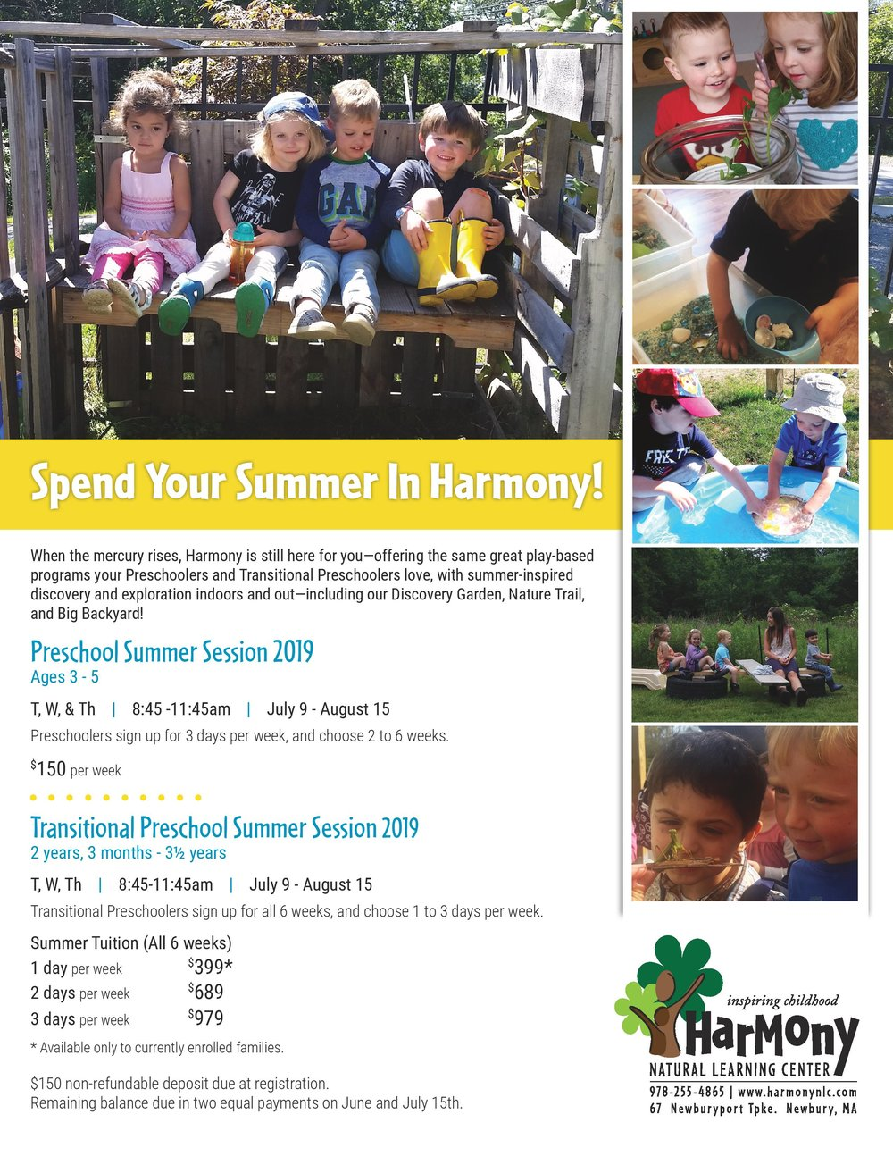 Newburyport Summer Camp 2019 Harmony Natural Learning Center Summer Sessions 2019.jpg