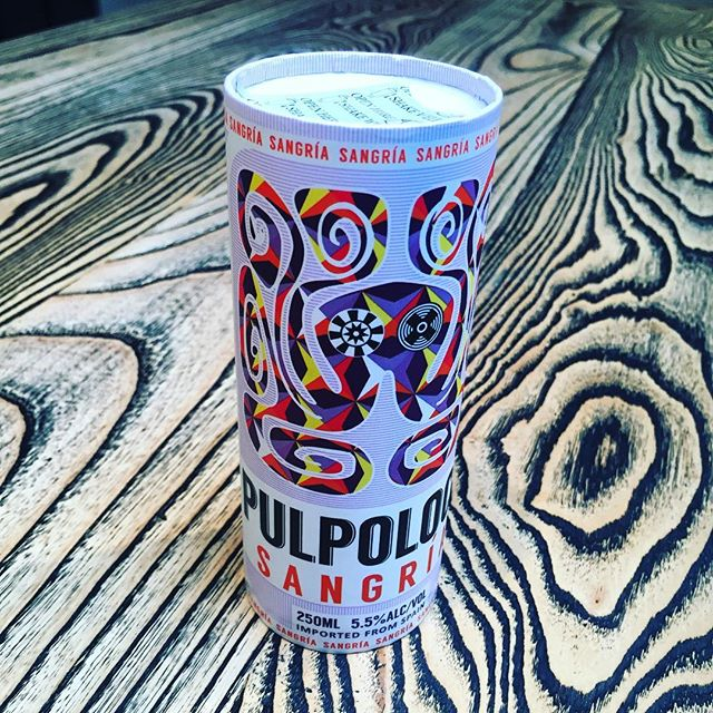"""This Pulpoloco Sangria that comes in this environment friendly """"Cartocan"""" is freakin' delicious!"""