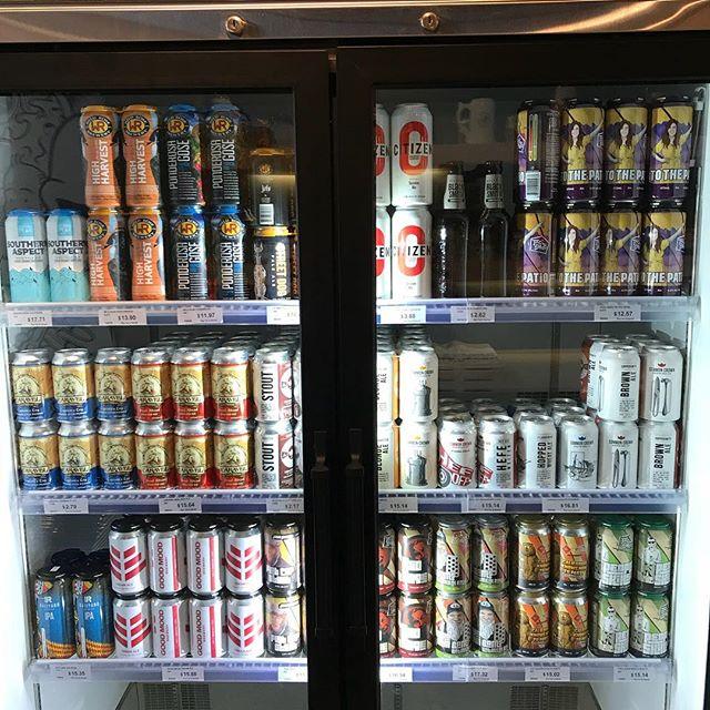 We're getting back to basics, stocking the best of local Alberta beers etc. #drinklocalalberta #craftbeeryyc