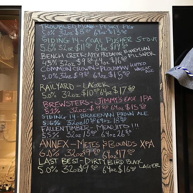 Some great stuff on the taps. #growlerfillsyyc #drinklocalalberta #craftbeeryyc
