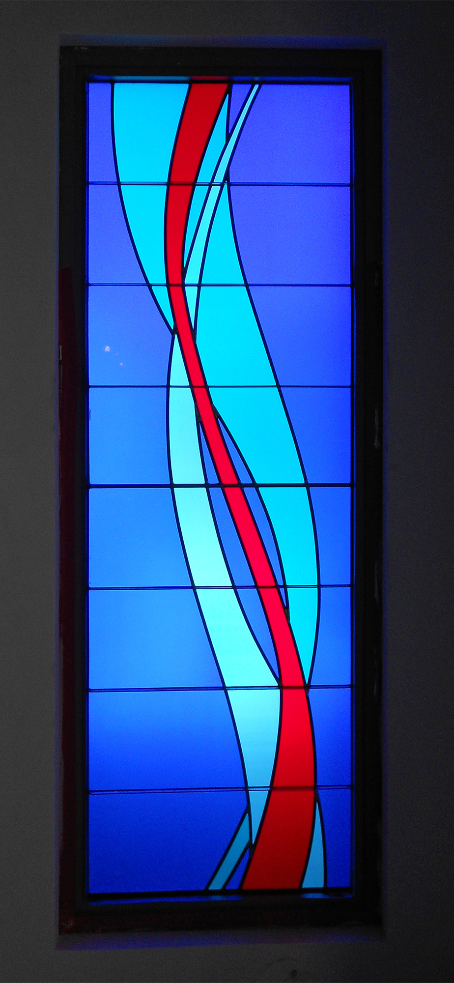 Laminated Glass, Our Lady Queen of Angels Church, Newport Beach, CA