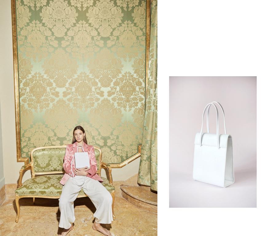 > FRITA WHITE BAG