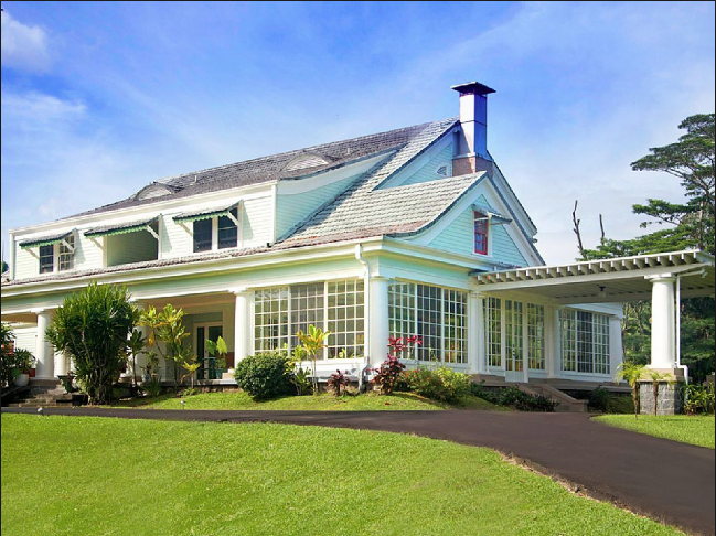 The Thomas Guard House/ The Hilo House; built in 1916;  Source