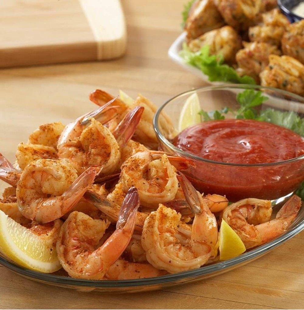 Spiced Shrimp Cocktail