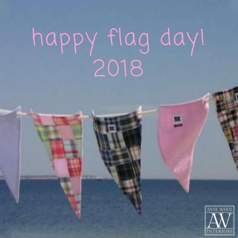 Anne White Interiors Blog | happy flag day