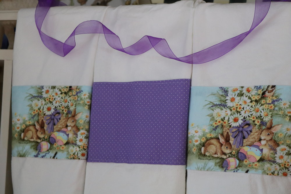 All Towel Sets of Three (3) - $45  All Sets of Two (2) - $30
